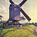 Windmill In Flanders by Theo van Rysselberghe