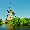 Windmill Neatherlands 4 by Phyllis Spoor