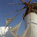 Windmill On Mykonos by Carl Purcell
