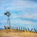 Windmill On The Hill by Sheryl Trunick
