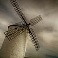 Windmills At Campo De Criptana by Pablo Lopez