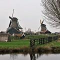 Windmills by Sandra Bourret