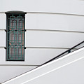 Window And Rail by Dan Holm