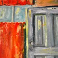 Window And The Pantry Door by Diane Fiore