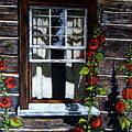 Window At Upper Canada Village by Joyce Geleynse