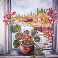Window Falls by Joseph Sandora Jr