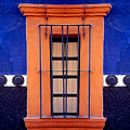 Window In San Miguel De Allende by Linda  Parker