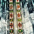 Window In The Lisbon Cathedral by Sarah Loft