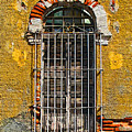 Window In The Yellow Wall By Darian Day by Mexicolors Art Photography