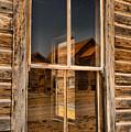Window Into The Montana Past by Adam Jewell
