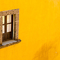 Window On A Yellow Wall. by Rob Huntley