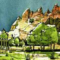 Window Rock Arizona by Terry Banderas