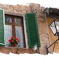 Window Siena Italy by Jim Wright
