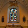 Window Teda Church by Leif Sohlman
