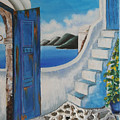 Window To Aegean by Martha Vasiliadou