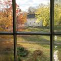 Window View Of Shakertown by Angie Bechanan