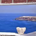 Window View To The Mediterranean by Madeline Ellis