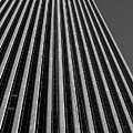 Window Washers View - Black And White by Karol Livote