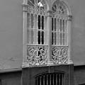 Windows At Cadiz Bw by Mark Victors