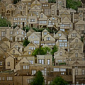 Windows Of Bernal Heights by Andre Salvador