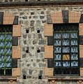 Windows With Steel Grates by Robert Hamm