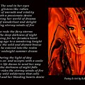 Winds Of Fire - Poetry In Art by Robin Monroe