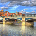 Windsor Bridge River Thames by David Pyatt