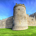 Windsor Castle Battlements  by David Pyatt