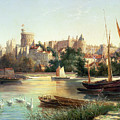 Windsor From The Thames   by Robert W Marshall