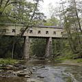 Windsor Mills Covered Bridge 3 by Jeff Roney