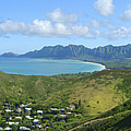 Windward Oahu Panorama IIi by David Cornwell/First Light Pictures, Inc - Printscapes