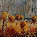 Windy Autumn Landscape  by Pol Ledent