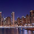 Windy City Lakefront by Frozen in Time Fine Art Photography