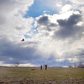 Windy Kite Day by Bill Cannon