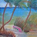 Windy Palms by Warren Thompson
