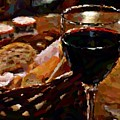 Wine And Bread by Richard Foxworth