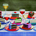 Wine And Cake by Cory Clifford