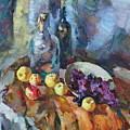 Wine And Fruit by Ishenko  V'yacheslav