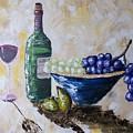 Wine And Grapes by Craig Wade