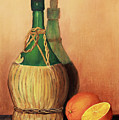 Wine And Oranges by Pattie Calfy