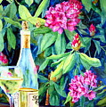 Wine And Rhodies by Karen Stark