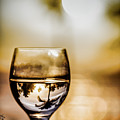 Wine And Sunset by Margaux Dreamaginations