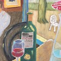 Wine At Justine's by Cherylene Henderson