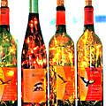 Wine Bottle Lights by Margaret Hood