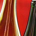 Wine Bottles 7 by Sarah Loft