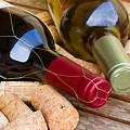 Wine Bottles by Anastasy Yarmolovich