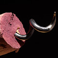 Wine Cork And Cork Screw by Frank Tschakert