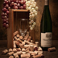 Wine Corks Still Life II by Tom Mc Nemar