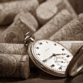 Wine Corks Still Life Vi Aged To Perfection by Tom Mc Nemar