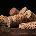 Wine Corks by Tom Mc Nemar